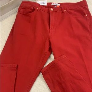 Monfrere Greyson Red Slim Fit Jeans 34W